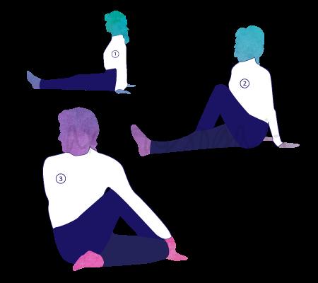 Posizione Yoga Ardha Matsyendrasana
