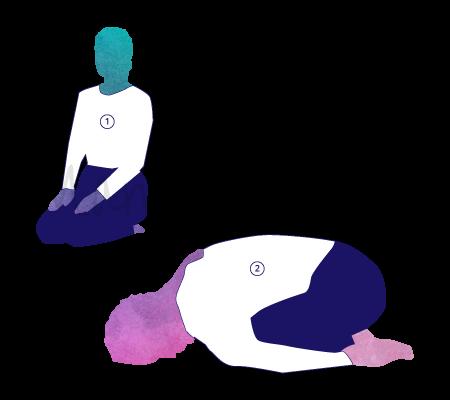 Asana Yoga Yogamudrasana