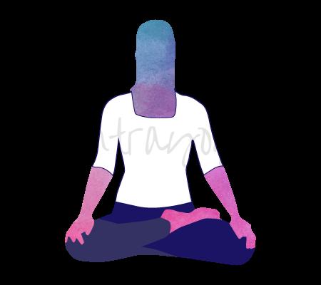 Ardha Padmasana (posizione del mezzo loto)