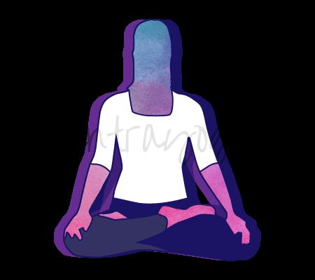 Kapalabhati Pranayama (esercizio di respirazione della pulizia del cranio)