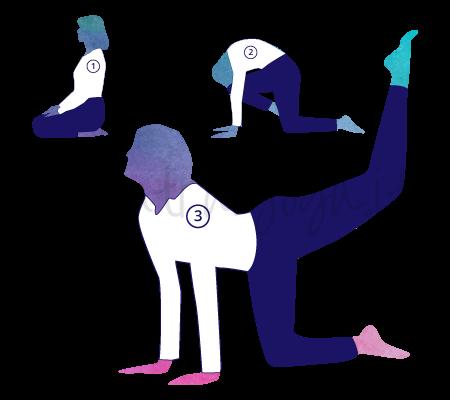 Asana Yoga Vyaghrasana