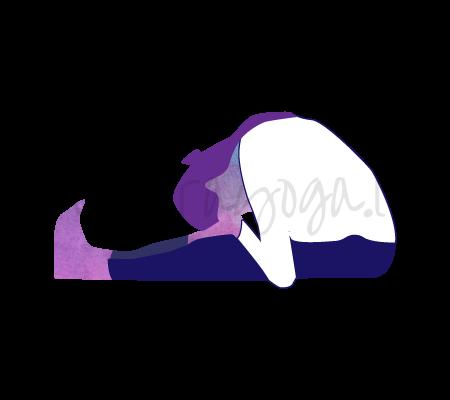 Paschimottanasana (piegamento in avanti da seduto)