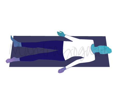 Savasana (posizione del cadavere)