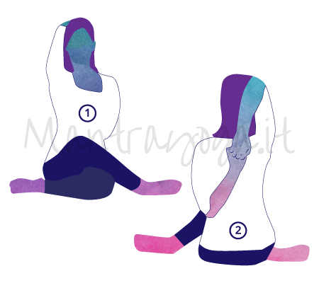 Gomukhasana (la posizione del muso di vacca)
